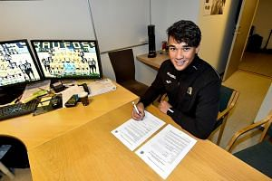Ikhsan Fandi, son of local football legend Fandi Ahmad, is the first Singaporean international to join a European club in 30 years. The 19-year-old will play for Norwegian second-tier club Raufoss.