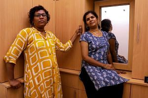 Ms Bindu Ammini (left) and Ms Kanakadurga are unrepentant over their defiant gesture, which turned them into heroes for women's groups, but hate figures for Hindu hardliners.