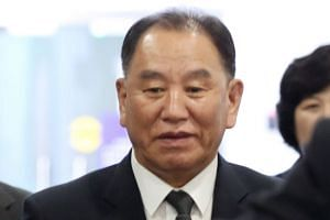 Kim Yong Chol (above) is  a top aide to North Korean leader Kim Jong Un.
