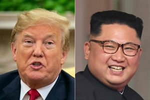 US President Donald Trump has been upbeat about a second round of face-to-face negotiations with North Korean leader Kim Jong Un, despite a lack of measurable progress toward disarmament.