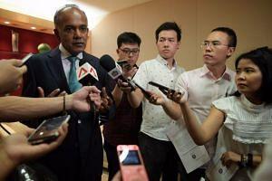 Home Affairs and Law Minister K. Shanmugam said all Singaporeans can promote their religion, as long as it does not promote violence or put down other races or faiths.