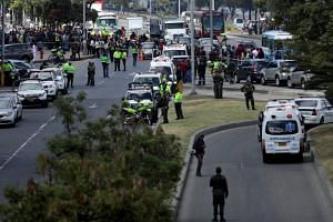Colombian police said on Jan 18 that 21 people were killed and 68 injured after a car bomb exploded at a police academy in Bogota in an attack that prompted fears of a return to the country's violent past.
