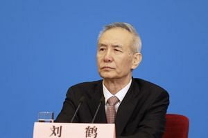 Mr Liu He's scheduled visit follows lower-level negotiations held in Beijing last week aimed at resolving a bitter trade dispute between the world's two largest economies.