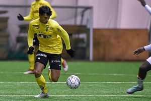 Ikhsan Fandi netted five goals in 12 internationals, more than any other Singapore player last year.