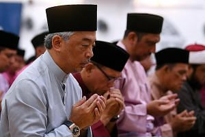 The abdication of the ailing 88-year-old Sultan Ahmad Shah of Pahang in favour of his son, Tengku Abdullah Sultan Ahmad Shah (above), 59, is widely viewed as a bid by the Pahang royal household to keep its place in the rotation, though it was to some