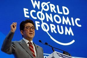 Japanese Prime Minister Shinzo Abe is preparing to host the Group of 20 summit in June in Osaka, and pledged to use the platform to promote environmental policies.