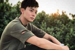 Actor Aloysius Pang was injured while repairing a Singapore Self-Propelled Howitzer at a military exercise in New Zealand.