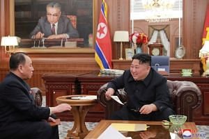 Mr Kim Jong Un meets the North Korean delegation sent to the US for high-level talks.