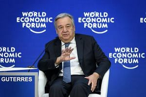 """UN chief Antonio Guterres said the ongoing shift away from a world dominated previously by two Cold War superpowers was creating """"a bit of a chaotic situation""""."""