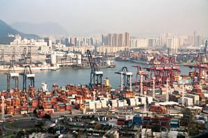 As recently as 2004, Hong Kong was the busiest container port in the world, with boxes full of manufactured goods fed to its wharves by trucks, barges and coastal ships from cities in China.