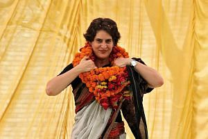 Mrs Priyanka Gandhi Vadra faces major challenges such as her being part of the Nehru-Gandhi lineage, attracting more BJP accusations of nepotism and dynastic politics in the Congress party, while her husband Robert Vadra's real-estate dealings have a