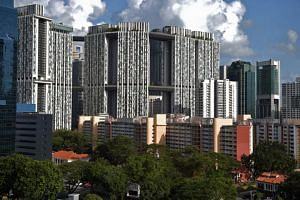 The majority of such million-dollar flats are non-standard ones such as DBSS flats like The Peak in Toa Payoh, the CBD-located estate of Pinnacle@Duxton (pictured), or rare terrace houses in Jalan Bahagia or Stirling Road.