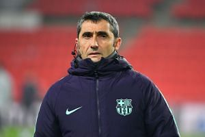 Valverde (above) believes Atletico Madrid are a greater threat this season than Real Madrid.