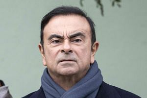 Carlos Ghosn has been in custody since his Nov 19 arrest in Tokyo.