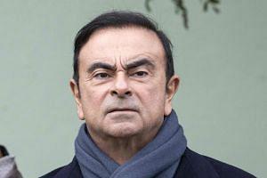 Carlos Ghosn has been in custody since his Nov 19 arrest in Tokyo.