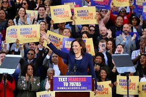 Senator Kamala Harris officially launching her campaign for the presidency in her hometown of Oakland, California, on Sunday. Ms Harris joins a Democratic field with several other candidates seeking to keep President Donald Trump out of the White Hou