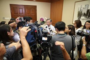 Speaking to reporters yesterday, Health Minister Gan Kim Yong said the ministry will not hesitate to take stern action against staff who violate security guidelines, or abuse their authority or their access to information.