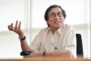 Retired diplomat Bilahari Kausikan chairs the National University of Singapore's Middle East Institute, which is holding a two-day conference at Goodwood Park Hotel next month on China's Belt and Road Initiative in the Middle East.