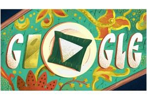 The Google Doodle on Jan 31, 2019, highlighted nasi lemak, a rich, fragrant and spicy dish.
