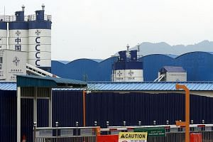 The entrance of the ECRL project site in Bentong, Pahang. Despite the proposed huge discount, Prime Minister Mahathir Mohamad's government decided to cancel the contract last month, sources say.