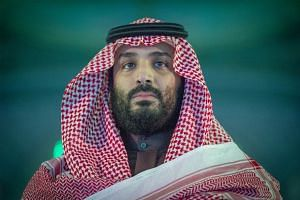 Saudi Arabia's Crown Prince Mohammed Bin Salman (above) remains