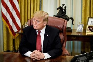 US President Donald Trump said he would meet Chinese President Xi Jinping, potentially more than once, to seal a deal.