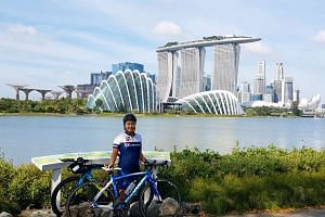 In December 2018, Tania Murphy cycled 100km in four hours, beginning her ride in Raffles Place, passing by Kranji and Mandai before finishing at Gardens by the Bay.