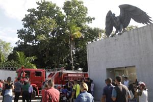 The fire broke out in a modern facility where the top-flight professional Flamengo squad also trains.