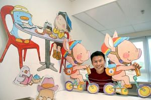 Mr Lee Kow Fong, who goes by the pseudonym Ah-Guo, has written and illustrated close to 20 picture books.