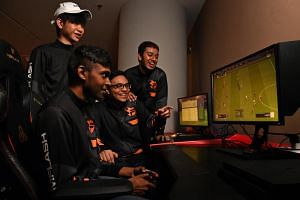 The interest in e-sports is rising in Singapore, but the local scene is seen to be lagging behind those in the United States, Europe and neighbouring countries Thailand and Indonesia. And drawing a full-time salary is the exception rather than the no