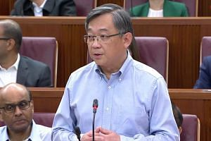 Health Minister Gan Kim Yong was responding to questions from MPs about whether the Ministry of Health had known about Mikhy Farrera Brochez's possible access to the HIV Registry information as early as 2012.