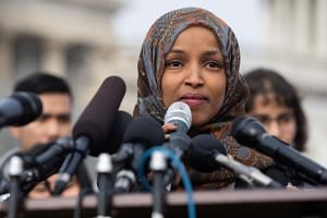 US Muslim lawmaker Ilhan Omar apologised on Feb 11, 2019, after suggesting US support for Israel is fueled by money from a pro-Israel lobby group.