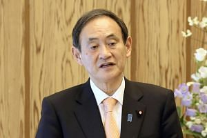 Japanese Chief Cabinet Secretary Yoshihide Suga said on Tuesday (Feb 12) that South Korean National Assembly Speaker Moon Hee-sang should retract his statements on the Japanese emperor.