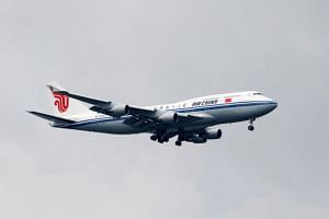 An Air China Boeing 747. Kim Jong Un could rent a plane from China again if he places priority on safety.