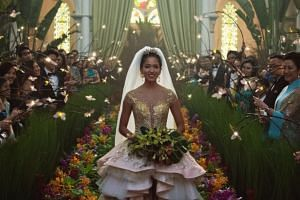The wedding scene in Crazy Rich Asians was filmed at Chijmes in Victoria Street.