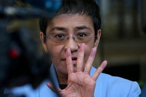 Journalist Maria Ressa, named a Time Magazine person of the year in 2018 for her work, was taken into custody by Philippine authorities in Manila.