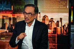 Mr Anwar Ibrahim said in an interview with Bloomberg on Feb 13, 2019, that Goldman Sachs Group must bear responsibility over the 1MDB scandal.