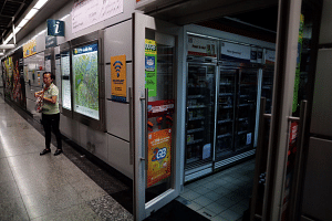 Clarke Quay MRT station was one of those affected by the electricity supply disruption on Feb 14, 2019.