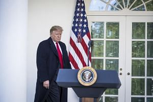US President Donald Trump's willingness to invoke emergency powers to circumvent Congress is likely to go down as an extraordinary violation of constitutional norms.