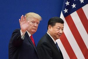 """United States President Donald Trump and Chinese President Xi Jinping are expected to meet """"some time in March""""."""