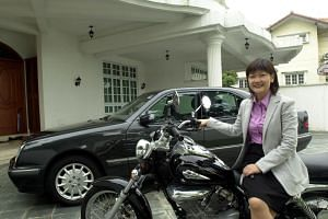 Hyflux chief executive Olivia Lum once bought a motorcycle to travel faster to her students' homes, when she was giving tuition to pay rent as a student in Singapore.