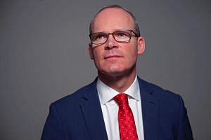 Ireland's Minister for Foreign Affairs Simon Coveney in Dublin, Ireland, on Feb 15, 2019.