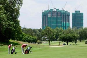 The Hong Kong Golf Club at Fanling is home to three 18-hole courses and practice facilities.