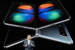 Samsung IT and mobile chief executive officer DJ Koh says the company's Galaxy Fold