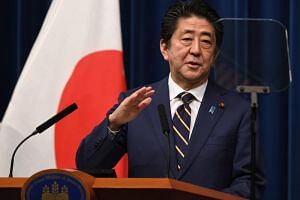 Japanese Prime Minister Shinzo Abe has said his government would ignore a referendum on the re-location of the US Marine Corps Air Station Futenma in densely populated Ginowan to the coastal district of Henoko.
