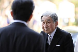 Japan's Emperor Akihito said he hoped his successors would think carefully about their symbolic status.
