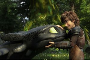 Movie still from How To Train Your Dragon: The Hidden World.