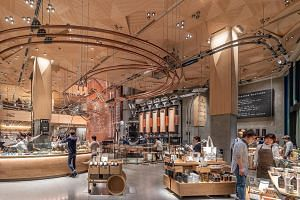 Starbucks' Reserve Roastery in Tokyo promises an upmarket experience with a menu of premium coffees, teas and cocktails.