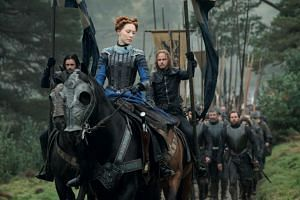 Saoirse Ronan plays Queen Mary I of Scotland in Mary Queen Of Scots.