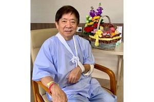 "Transport Minister Khaw Boon Wan said in a Facebook post that his accident at home was a ""timely reminder"" that it is important for senior citizens to ""never jump out of bed""."